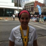 "Amy Williamson: ""Mind over Tummy"" in the Austin Marathon"