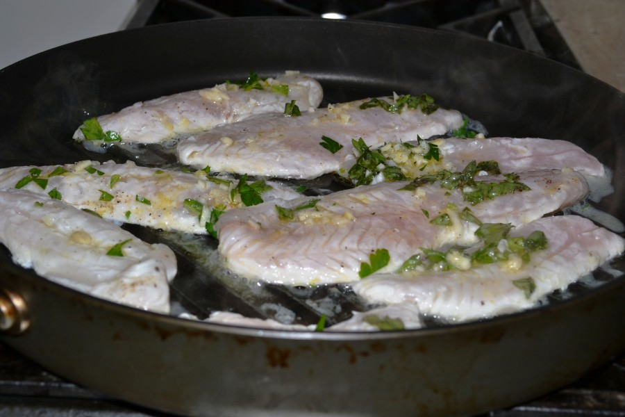 Fish cooking