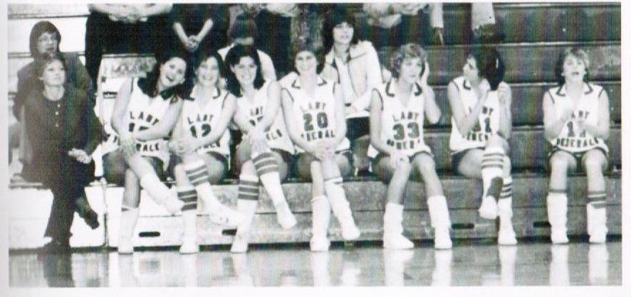 HS Basketball On Bench