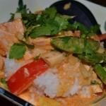 Curry Salmon Stir-Fry